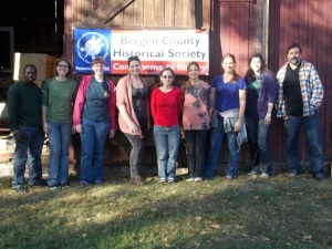 Participants on Saturday, October 12th.